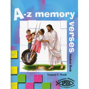 Simon Peter School Scripture Study A-Z Memory Verses Student Book (3rd Grade - 5th Grades)