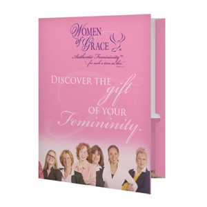 Women of Grace Folders - 10 Pack